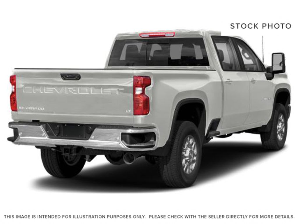 White[Iridescent Pearl Tricoat] 2020 Chevrolet Silverado 3500HD Right Rear Corner Photo in Fort Macleod AB