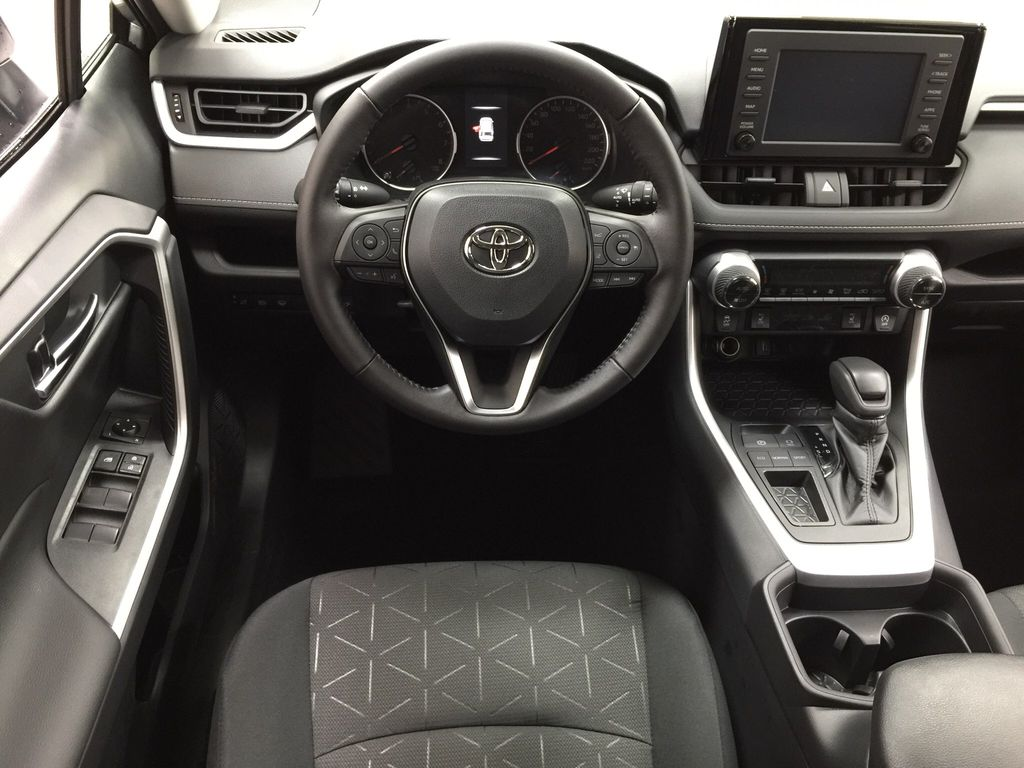 Silver[Silver Sky Metallic] 2021 Toyota RAV4 XLE FWD Left Front Seat Photo in Sherwood Park AB