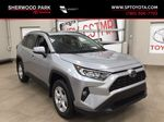 Silver[Silver Sky Metallic] 2021 Toyota RAV4 XLE FWD Primary Listing Photo in Sherwood Park AB