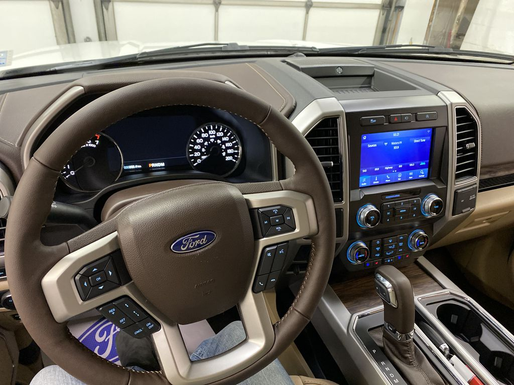 Gray[Abyss Grey] 2020 Ford F-150 Steering Wheel and Dash Photo in Dartmouth NS