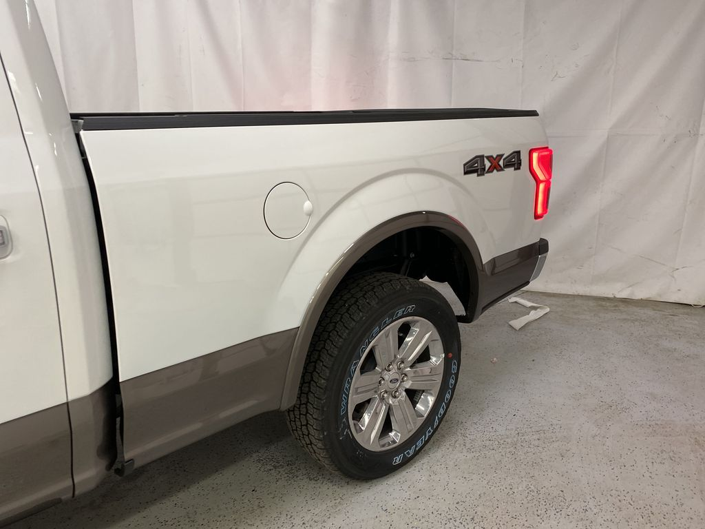 Gray[Abyss Grey] 2020 Ford F-150 Left Rear Corner Photo in Dartmouth NS