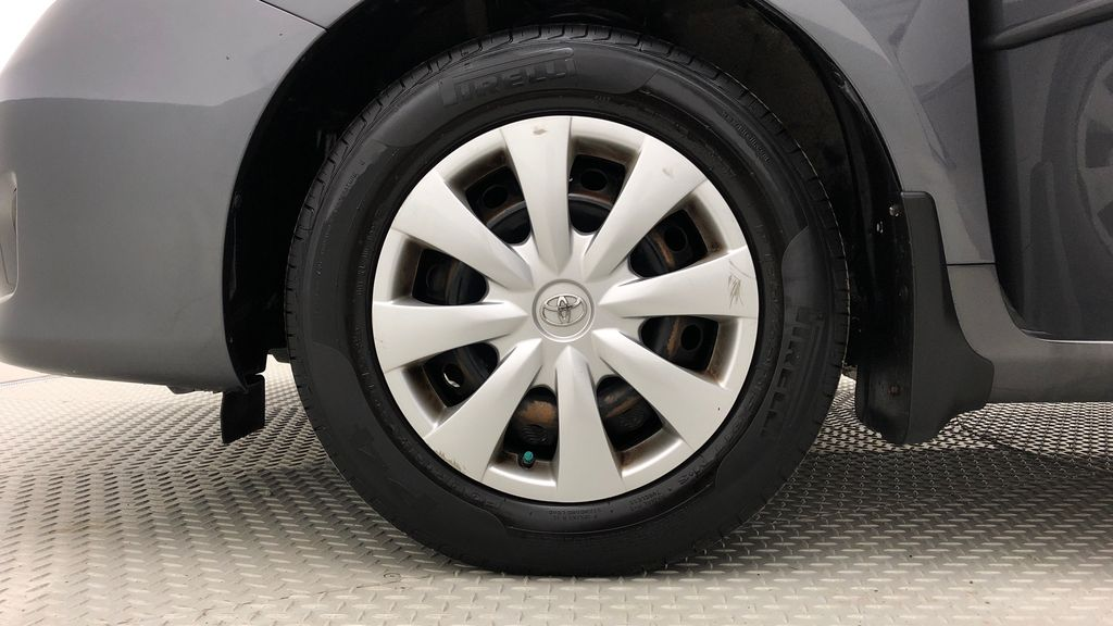 Gray[Magnetic Grey Metallic] 2010 Toyota Corolla CE - Automatic, A/C, Crusie Control Left Front Rim and Tire Photo in Winnipeg MB