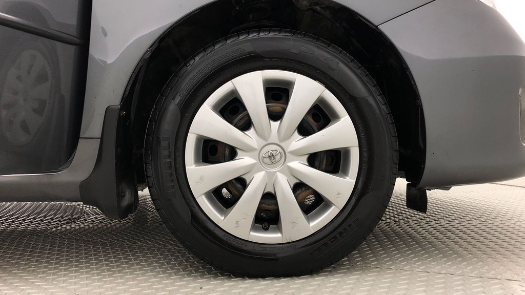 Gray[Magnetic Grey Metallic] 2010 Toyota Corolla CE - Automatic, A/C, Crusie Control Right Front Rim and Tire Photo in Winnipeg MB
