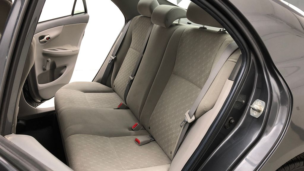 Gray[Magnetic Grey Metallic] 2010 Toyota Corolla CE - Automatic, A/C, Crusie Control Left Side Rear Seat  Photo in Winnipeg MB