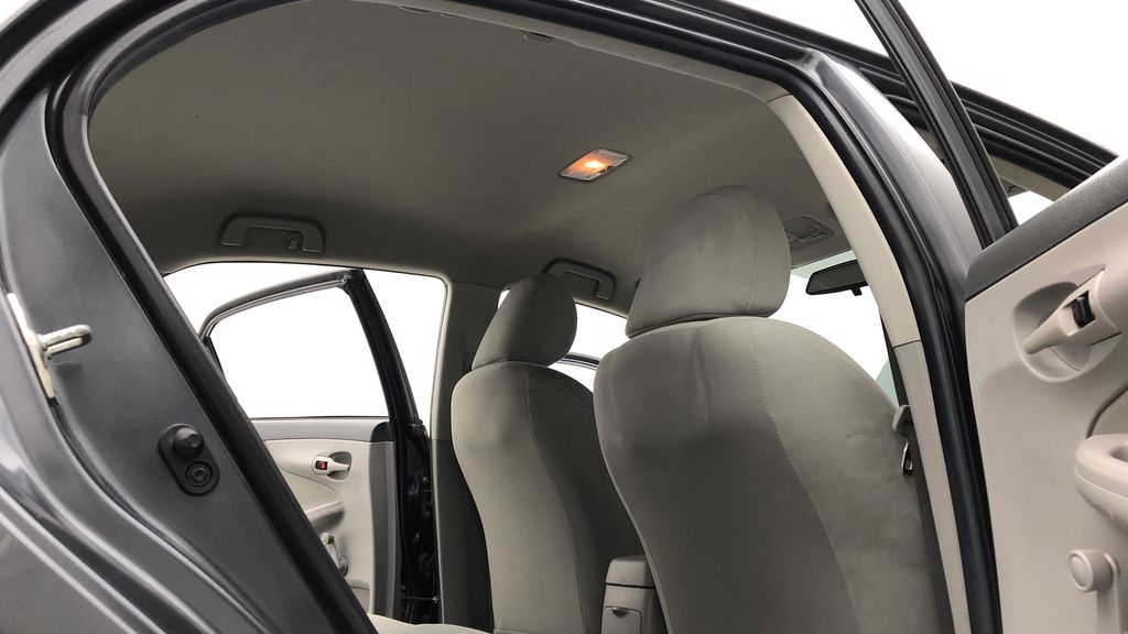 Gray[Magnetic Grey Metallic] 2010 Toyota Corolla CE - Automatic, A/C, Crusie Control Headliner / Equipment Photo in Winnipeg MB