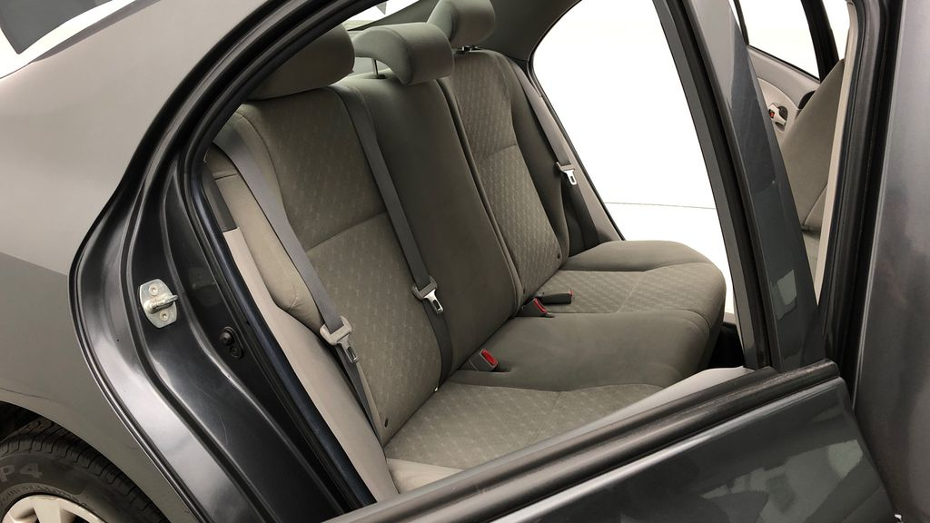 Gray[Magnetic Grey Metallic] 2010 Toyota Corolla CE - Automatic, A/C, Crusie Control Right Side Rear Seat  Photo in Winnipeg MB