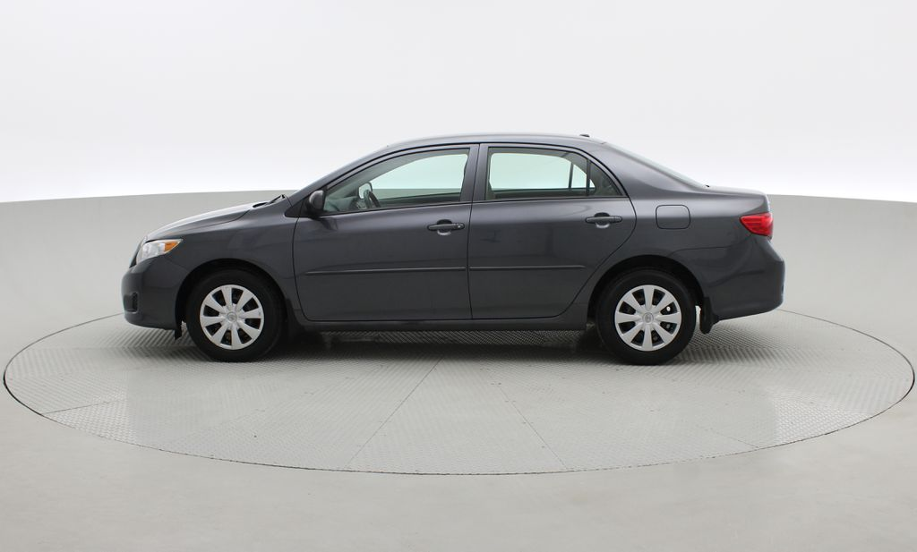 Gray[Magnetic Grey Metallic] 2010 Toyota Corolla CE - Automatic, A/C, Crusie Control Left Side Photo in Winnipeg MB