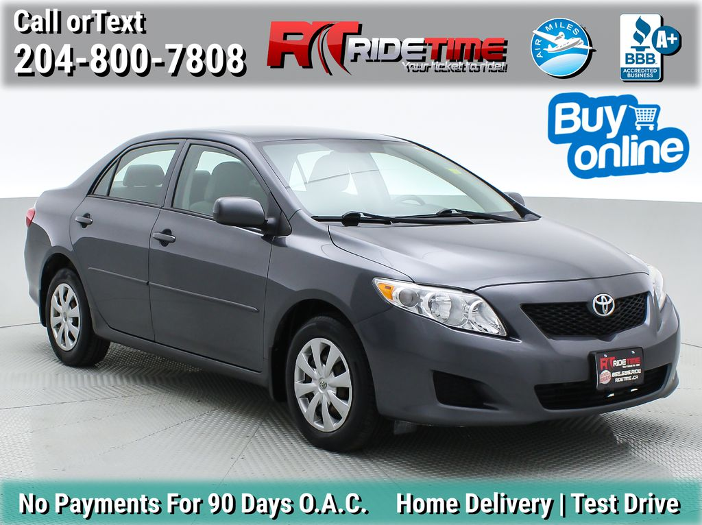 Gray[Magnetic Grey Metallic] 2010 Toyota Corolla CE - Automatic, A/C, Crusie Control