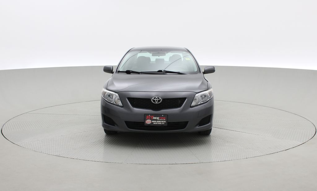 Gray[Magnetic Grey Metallic] 2010 Toyota Corolla CE - Automatic, A/C, Crusie Control Front Vehicle Photo in Winnipeg MB