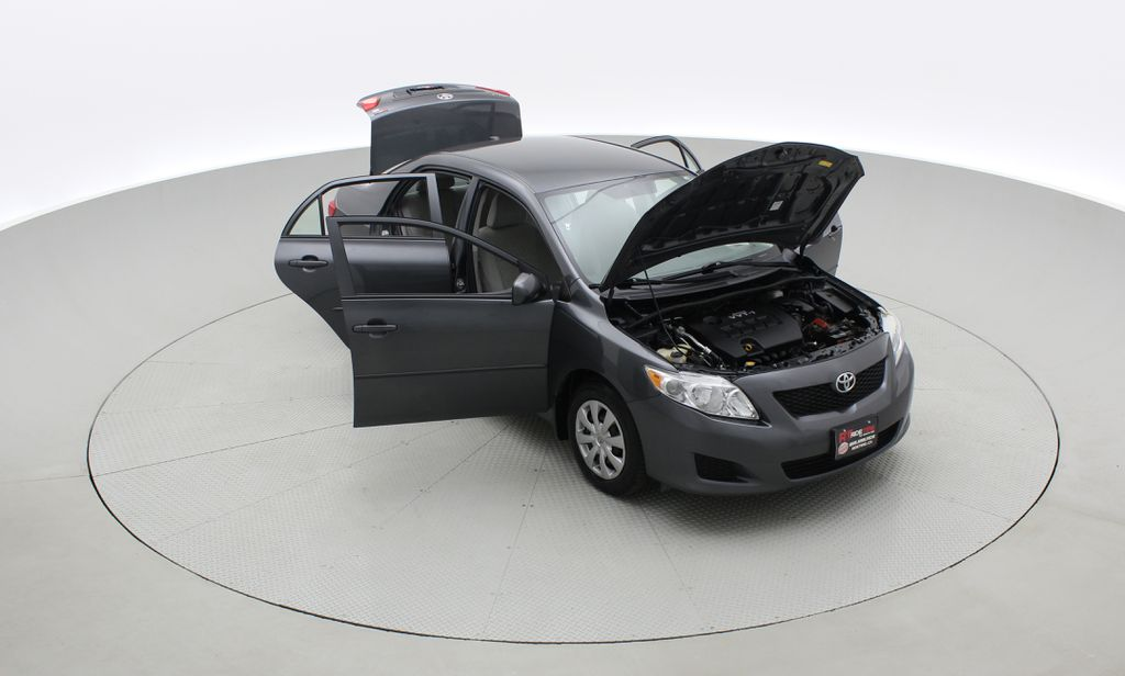 Gray[Magnetic Grey Metallic] 2010 Toyota Corolla CE - Automatic, A/C, Crusie Control Left Front Corner Photo in Winnipeg MB