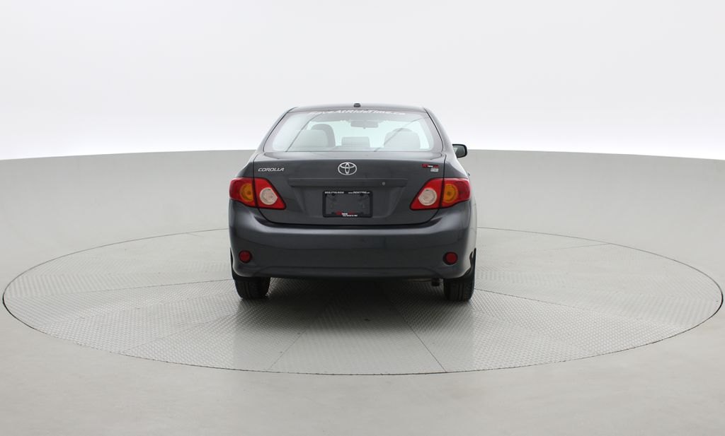 Gray[Magnetic Grey Metallic] 2010 Toyota Corolla CE - Automatic, A/C, Crusie Control Rear of Vehicle Photo in Winnipeg MB