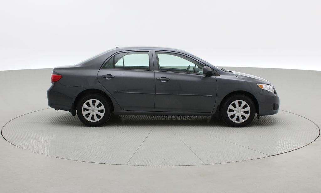 Gray[Magnetic Grey Metallic] 2010 Toyota Corolla CE - Automatic, A/C, Crusie Control Right Side Photo in Winnipeg MB