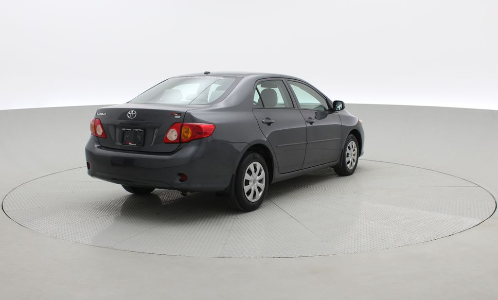 Gray[Magnetic Grey Metallic] 2010 Toyota Corolla CE - Automatic, A/C, Crusie Control Right  Rear Corner Photo in Winnipeg MB