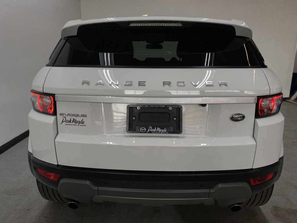 WHITE 2014 Land Rover Range Rover Evoque Prestige- Heated Front/Rear Seats, 360 Camera Rear of Vehicle Photo in Edmonton AB