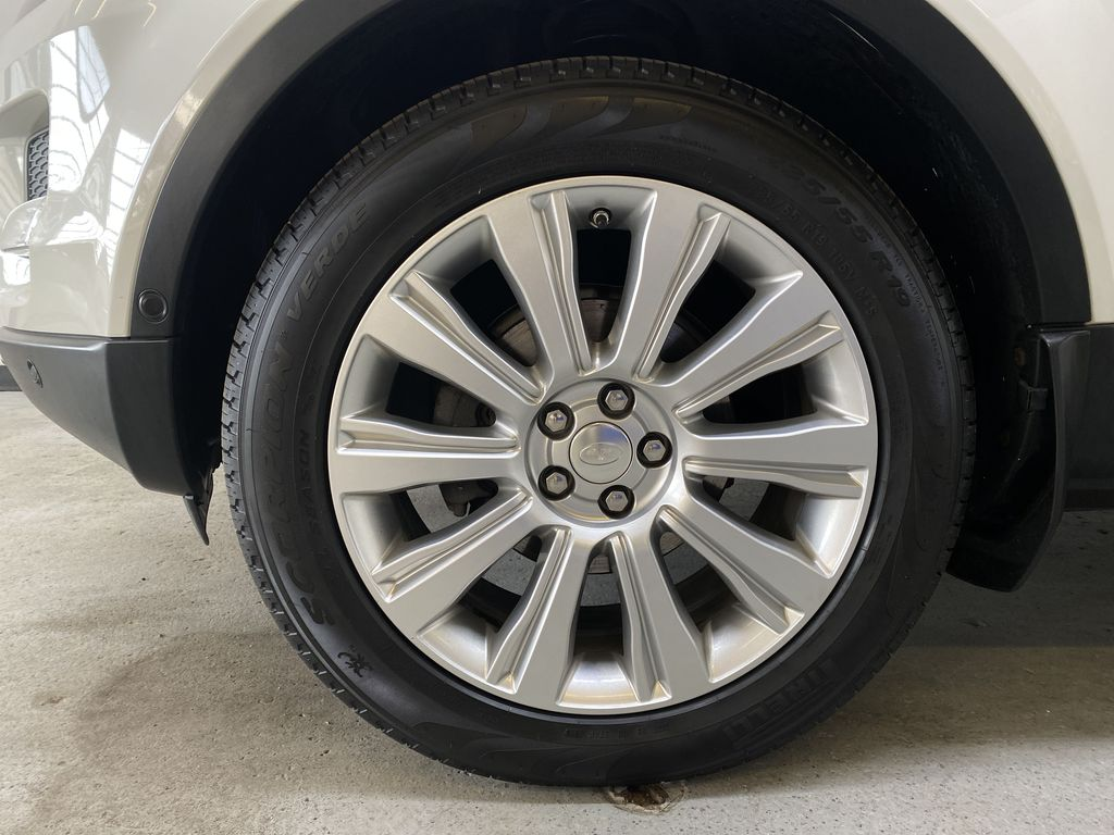 WHITE 2014 Land Rover Range Rover Evoque Prestige- Heated Front/Rear Seats, 360 Camera Left Front Rim and Tire Photo in Edmonton AB