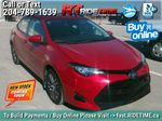 Red[Barcelona Red Metallic] 2017 Toyota Corolla LE - Bluetooth, Heated Seats, Sunroof, Alloy Wheels Primary Listing Photo in Winnipeg MB
