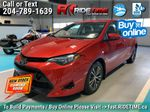 Red[Barcelona Red Metallic] 2017 Toyota Corolla LE - Bluetooth, Heated Seats, Sunroof, Alloy Wheels Front Vehicle Photo in Winnipeg MB