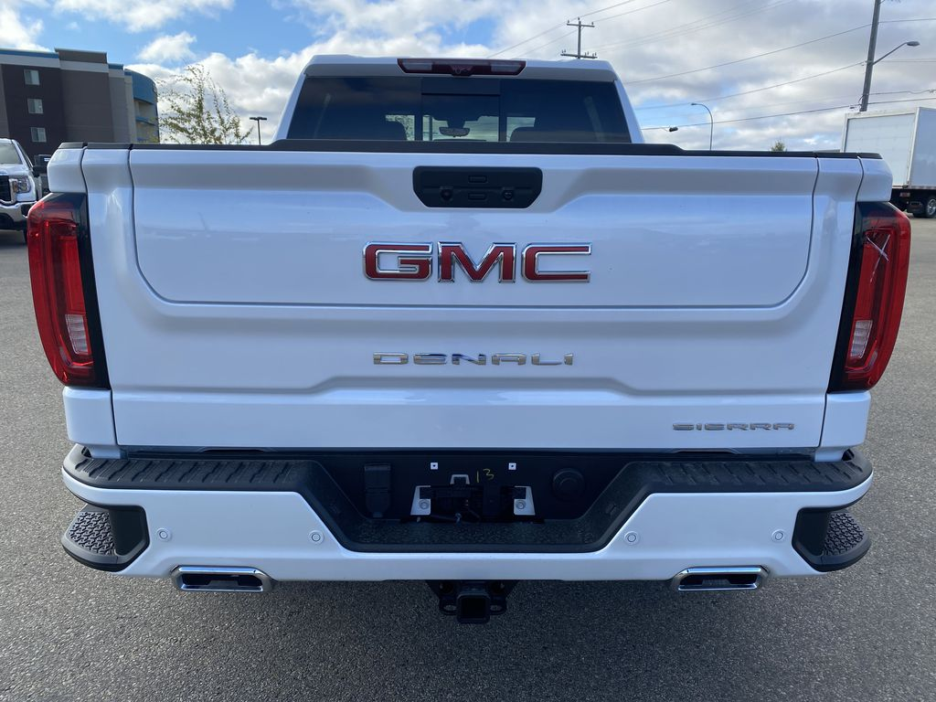White[White Frost Tricoat] 2021 GMC Sierra 1500 Rear of Vehicle Photo in Edmonton AB