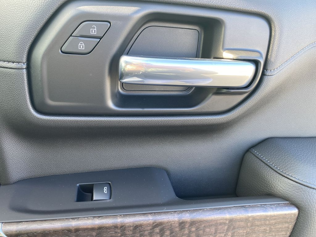 White[White Frost Tricoat] 2021 GMC Sierra 1500 Passenger Front Door Controls Photo in Edmonton AB