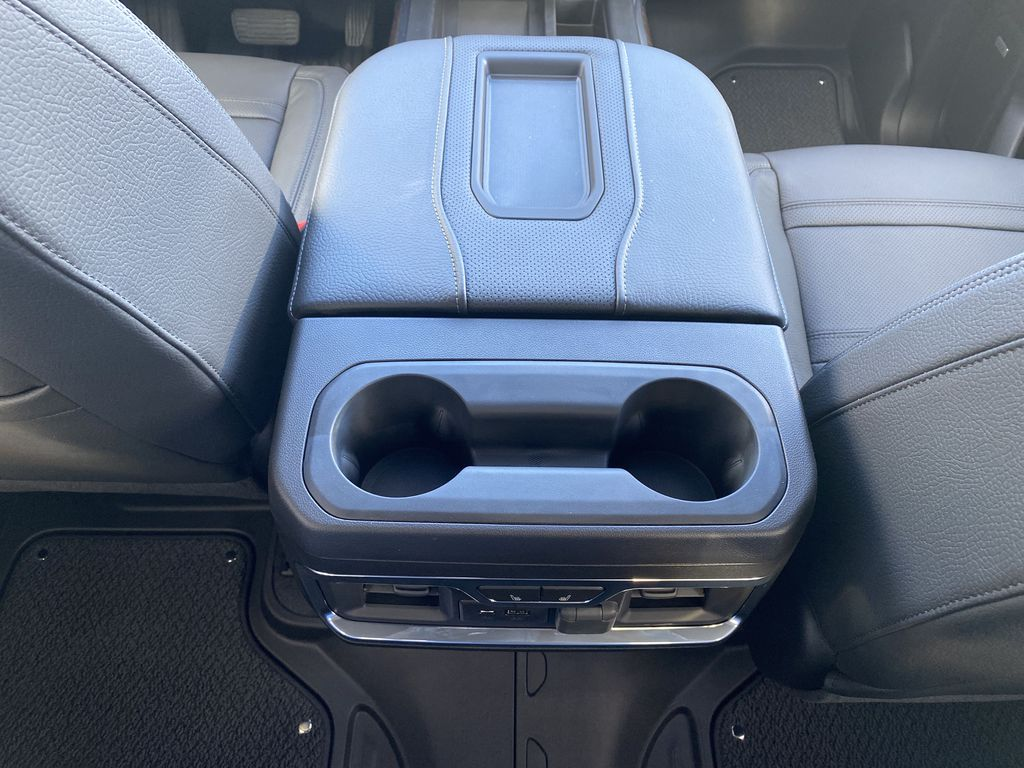 White[White Frost Tricoat] 2021 GMC Sierra 1500 Center Console Photo in Edmonton AB