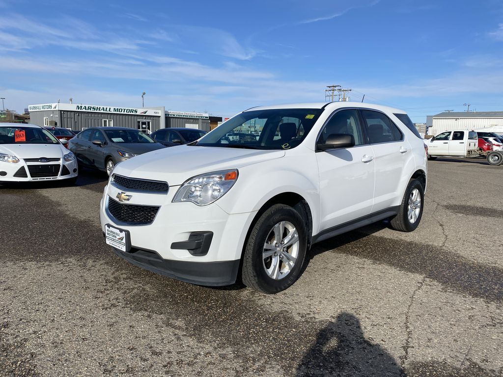 White 2013 Chevrolet Equinox FWD 4dr LS  *Low KMS**MP3 Capability**Cruise Control*