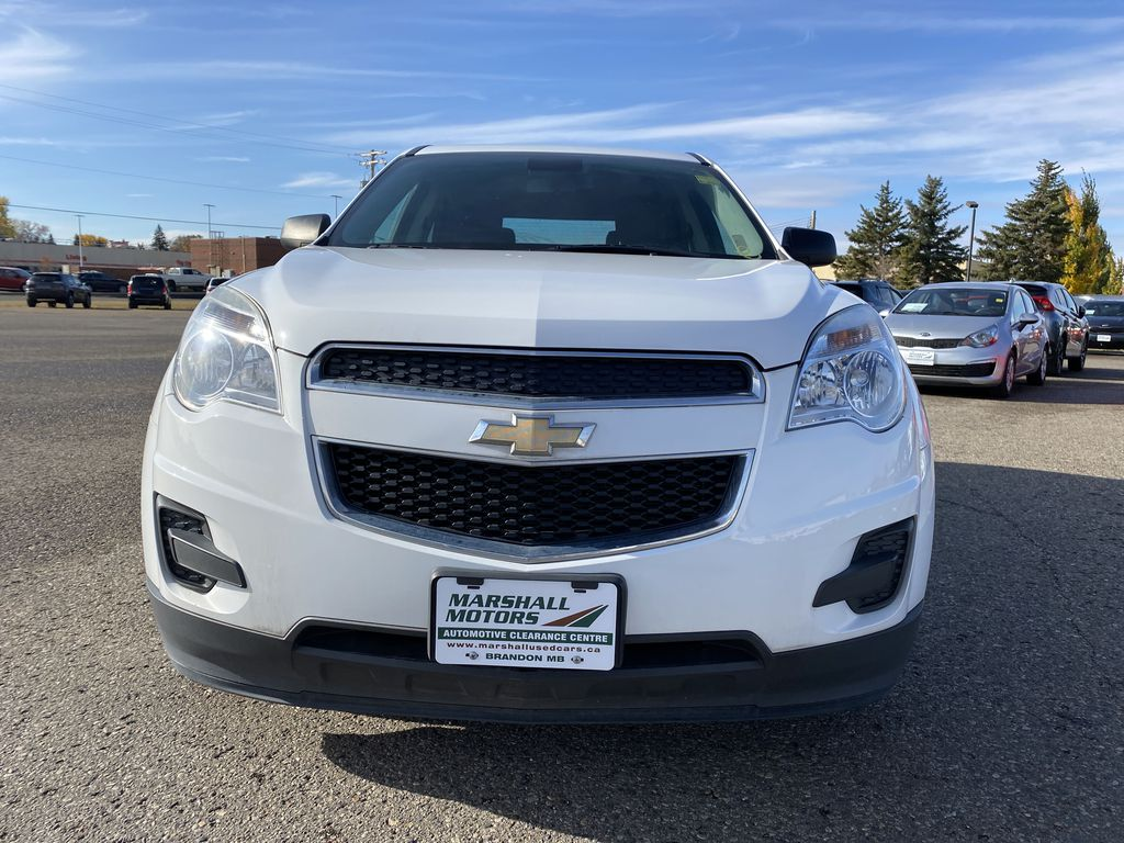 White 2013 Chevrolet Equinox FWD 4dr LS  *Low KMS**MP3 Capability**Cruise Control* Left Front Head Light / Bumper and Grill in Brandon MB