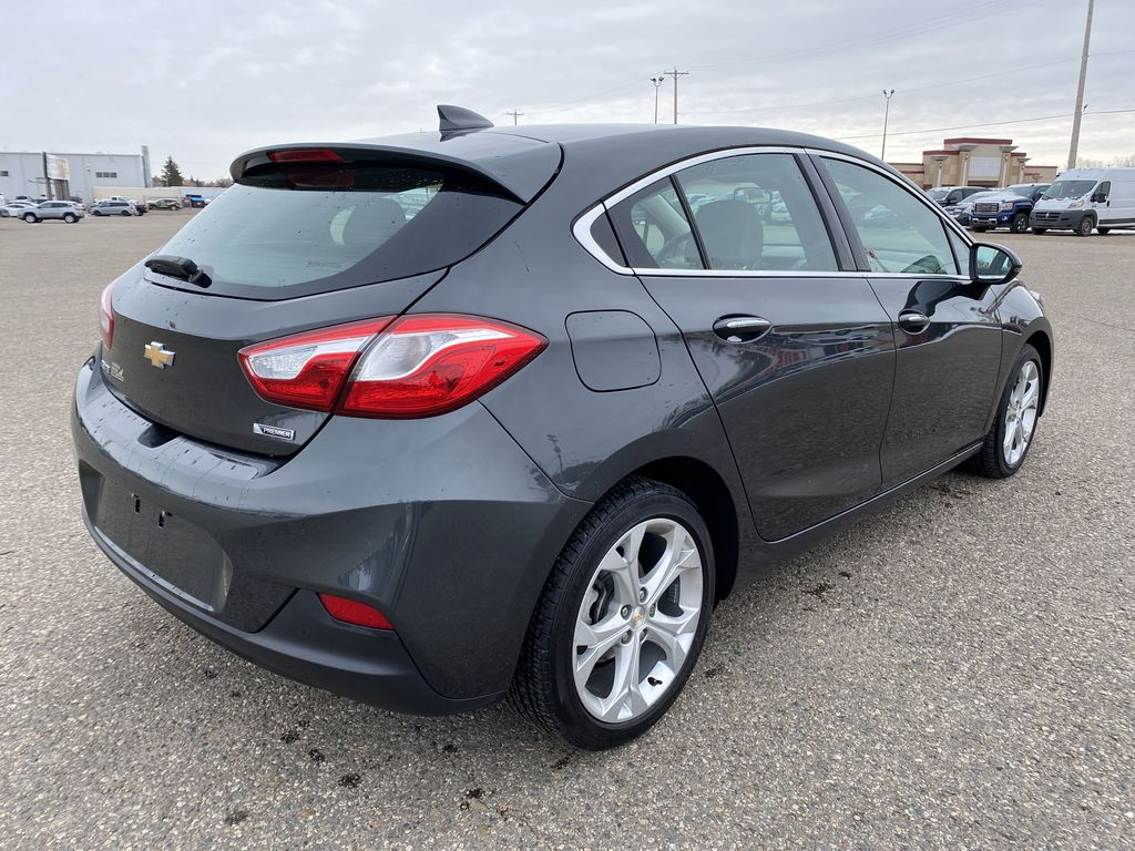 Gray 2018 Chevrolet Cruze 4dr HB 1.4L Premier w/1SF *Back-Up Cam**Heated Seats**Bluetooth* Right Rear Corner Photo in Brandon MB