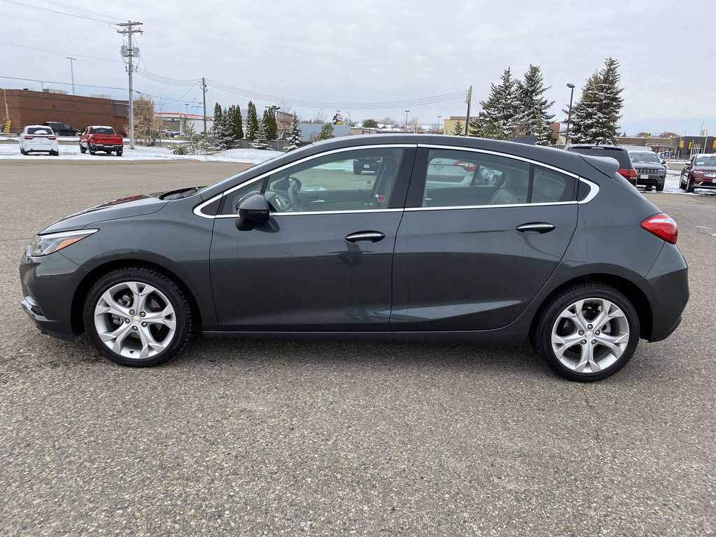 Gray 2018 Chevrolet Cruze 4dr HB 1.4L Premier w/1SF *Back-Up Cam**Heated Seats**Bluetooth* Left Side Photo in Brandon MB