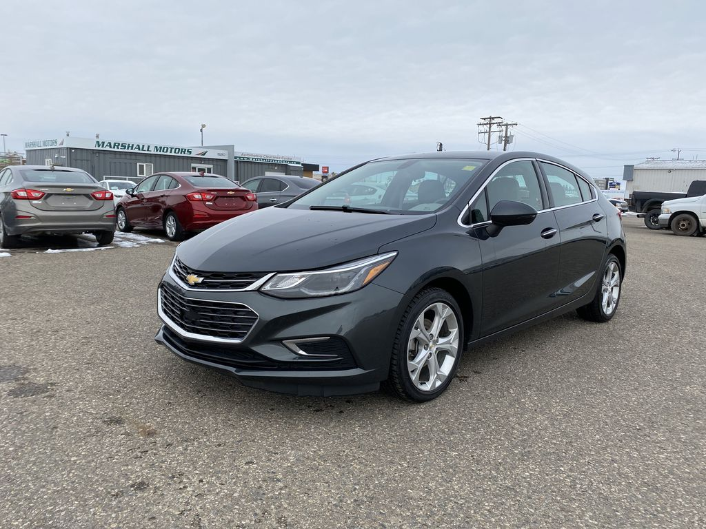 Gray 2018 Chevrolet Cruze 4dr HB 1.4L Premier w/1SF *Back-Up Cam**Heated Seats**Bluetooth*