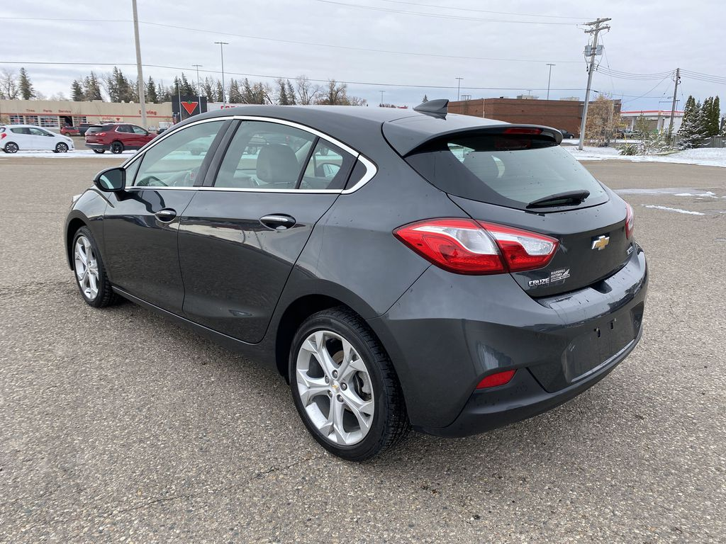 Gray 2018 Chevrolet Cruze 4dr HB 1.4L Premier w/1SF *Back-Up Cam**Heated Seats**Bluetooth* Left Rear Corner Photo in Brandon MB