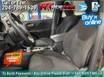 Green[Eco Green Pearl] 2015 Jeep Cherokee North 4WD - 8.4in Uconnect, Remote Start, Pwr Liftgate Left Front Interior Photo in Winnipeg MB