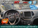 Green[Eco Green Pearl] 2015 Jeep Cherokee North 4WD - 8.4in Uconnect, Remote Start, Pwr Liftgate Central Dash Options Photo in Winnipeg MB