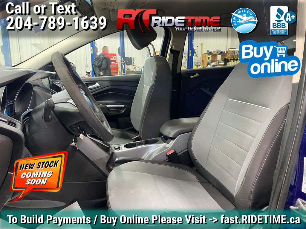 Blue[Deep Impact Blue] 2013 Ford Escape SE 4WD - 2.0L EcoBoost, MyFord Touch, Heated Seats Left Front Interior Photo in Winnipeg MB