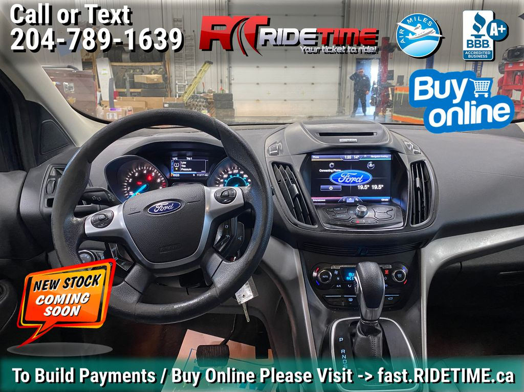 Blue[Deep Impact Blue] 2013 Ford Escape SE 4WD - 2.0L EcoBoost, MyFord Touch, Heated Seats Central Dash Options Photo in Winnipeg MB
