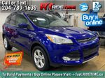 Blue[Deep Impact Blue] 2013 Ford Escape SE 4WD - 2.0L EcoBoost, MyFord Touch, Heated Seats Primary Listing Photo in Winnipeg MB