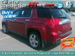 Red[Crystal Red Tintcoat] 2013 GMC Terrain SLT-2 AWD - Leather, Sunroof, Navigation, Pwr Liftgate Left Rear Corner Photo in Winnipeg MB