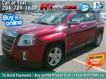 Red[Crystal Red Tintcoat] 2013 GMC Terrain SLT-2 AWD - Leather, Sunroof, Navigation, Pwr Liftgate Primary Listing Photo in Winnipeg MB