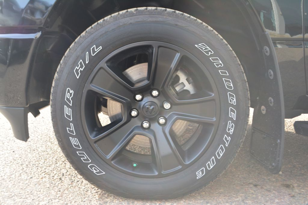 2020 Ram 1500 Left Front Rim and Tire Photo in Bonnyville AB