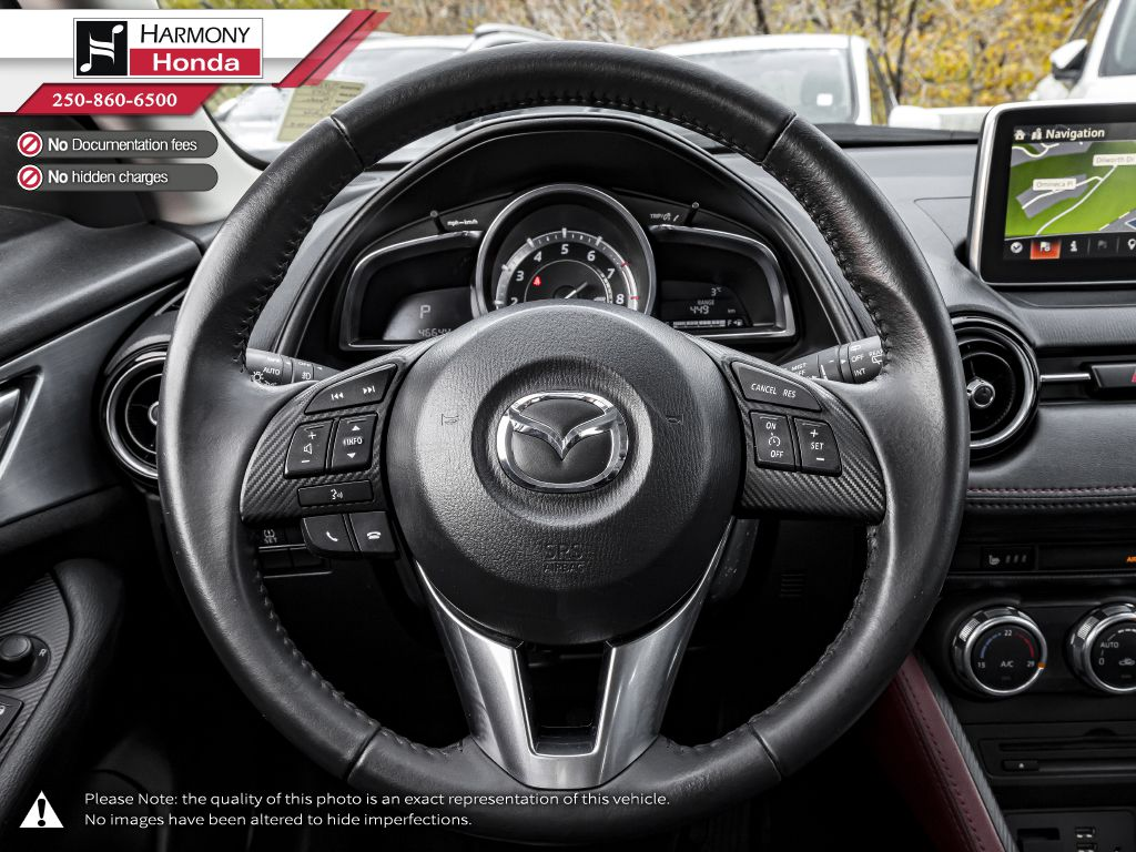 White - Crystal White Pearl 2017 Mazda CX-3 Right Side Front Seat  Photo in Kelowna BC