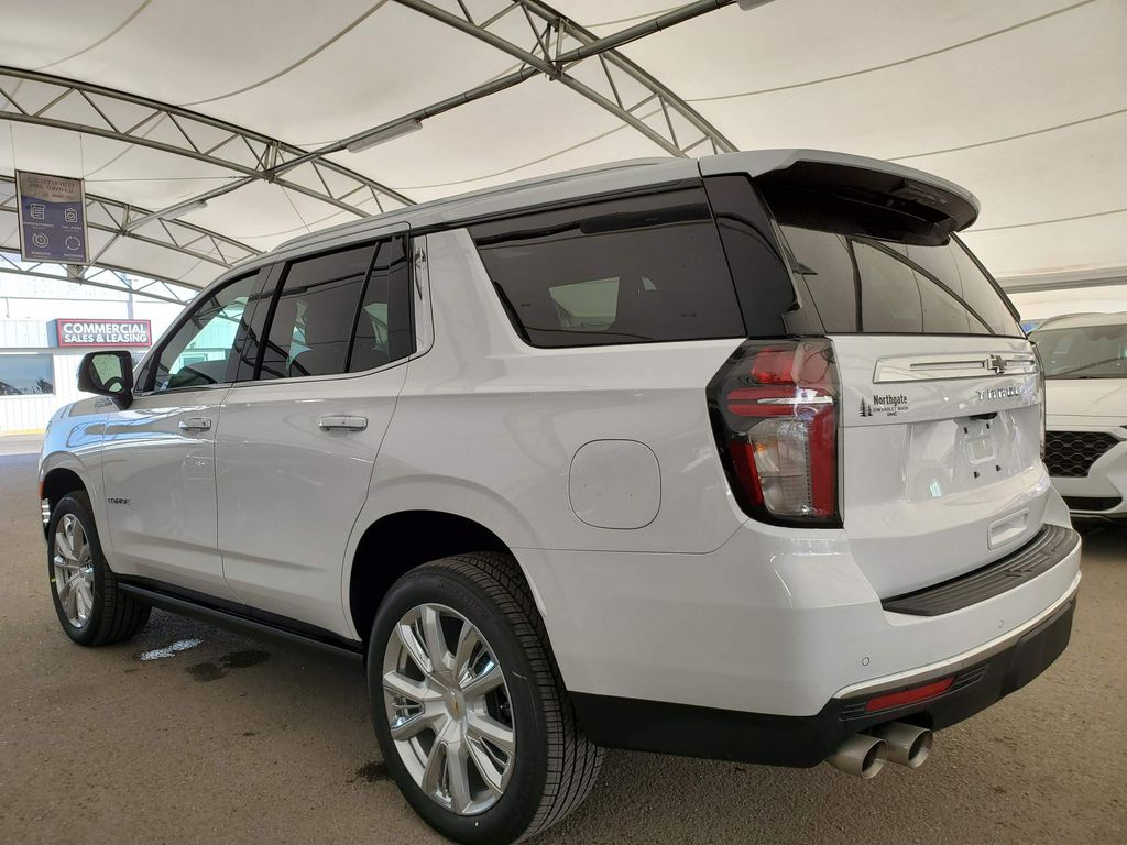 White 2021 Chevrolet Tahoe Trunk / Cargo Area Photo in Airdrie AB
