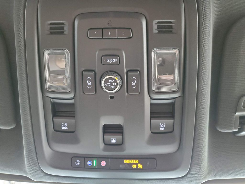 White 2021 Chevrolet Tahoe Steering Wheel and Dash Photo in Airdrie AB