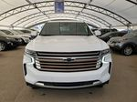White 2021 Chevrolet Tahoe Left Front Corner Photo in Airdrie AB