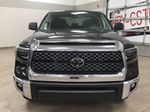 Black[Midnight Black Metallic] 2021 Toyota Tundra TRD Off-Road Front Vehicle Photo in Sherwood Park AB