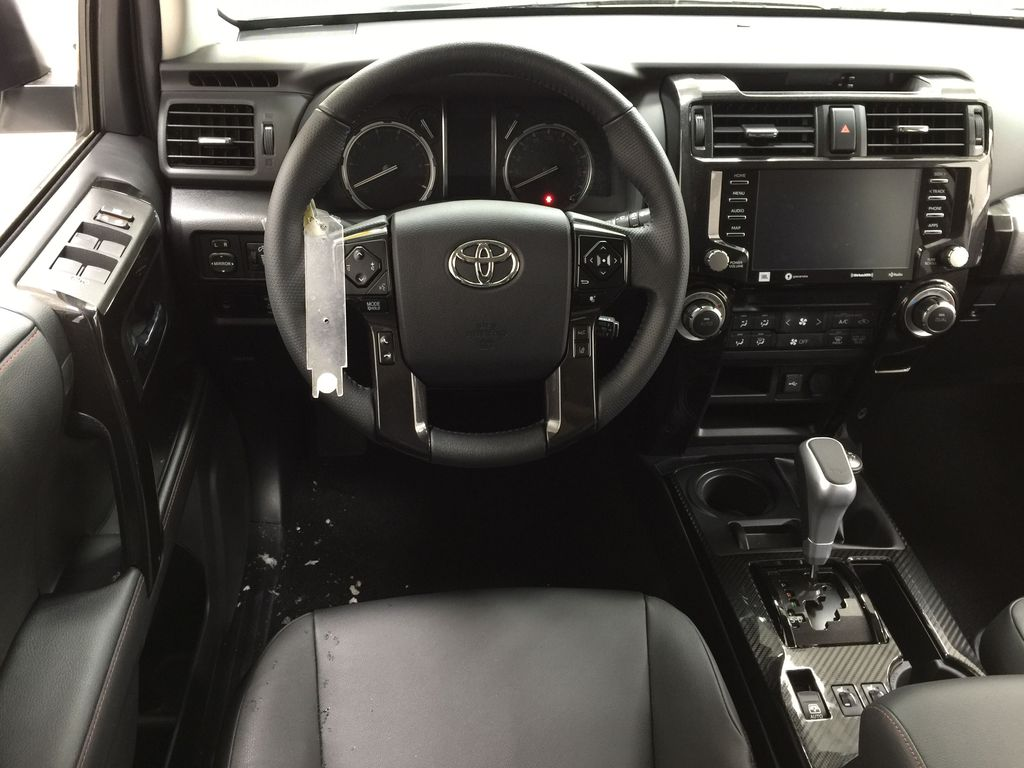White[Blizzard Pearl] 2020 Toyota 4Runner TRD Pro Left Front Seat Photo in Sherwood Park AB