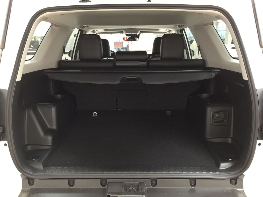White[Blizzard Pearl] 2020 Toyota 4Runner TRD Pro Cargo Area/Rear Seats Photo in Sherwood Park AB