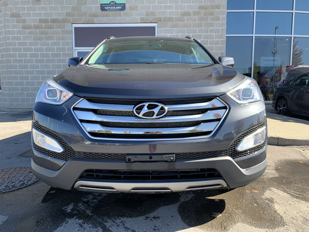 Gray[Platinum Graphite] 2016 Hyundai Santa Fe Sport Left Side Photo in Brampton ON