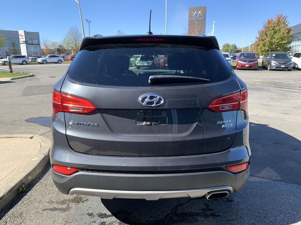 Gray[Platinum Graphite] 2016 Hyundai Santa Fe Sport Left Front Interior Photo in Brampton ON