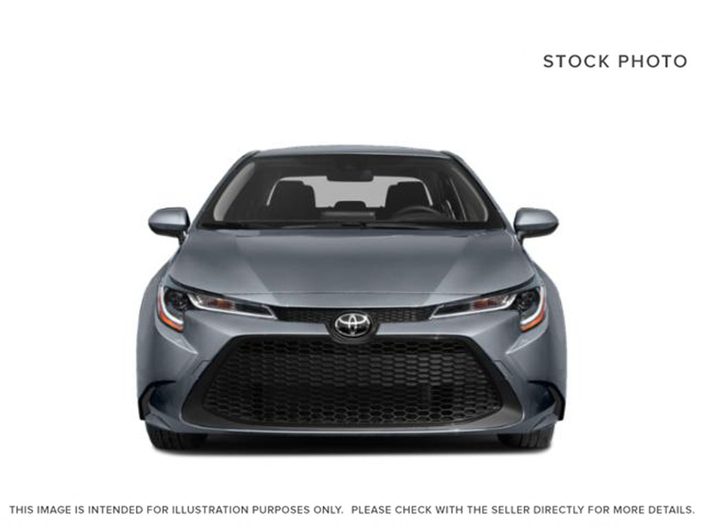 White[Super White] 2021 Toyota Corolla Front Vehicle Photo in Edmonton AB