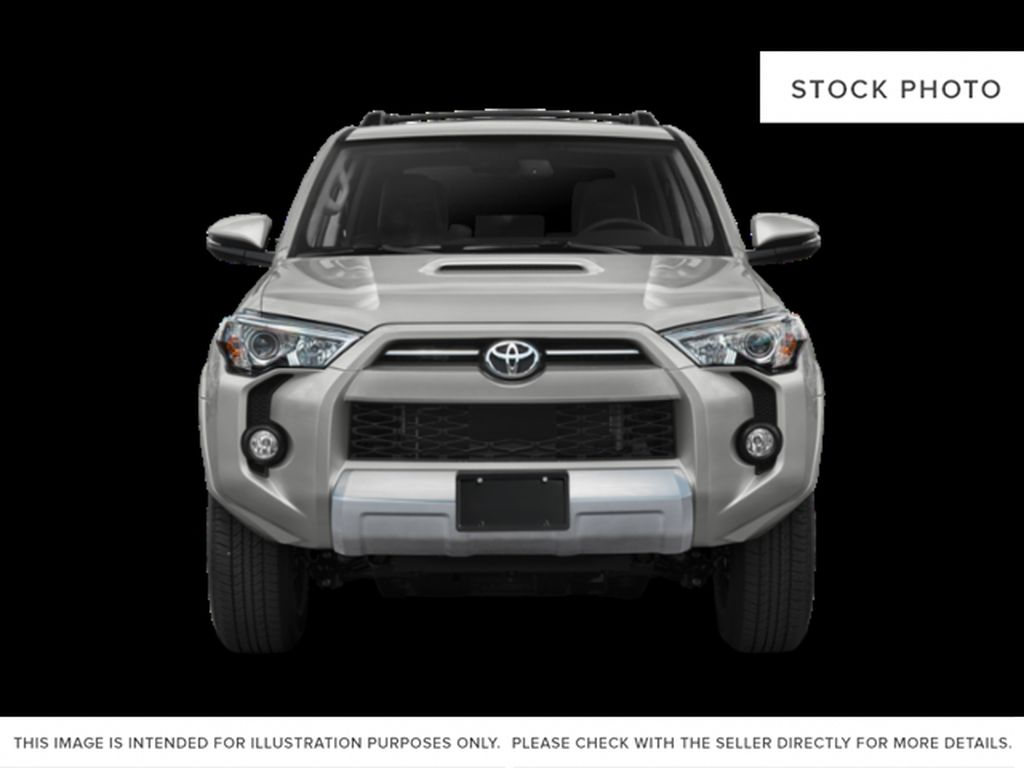 Gray[Magnetic Grey Metallic] 2021 Toyota 4Runner Limited Front Vehicle Photo in Edmonton AB