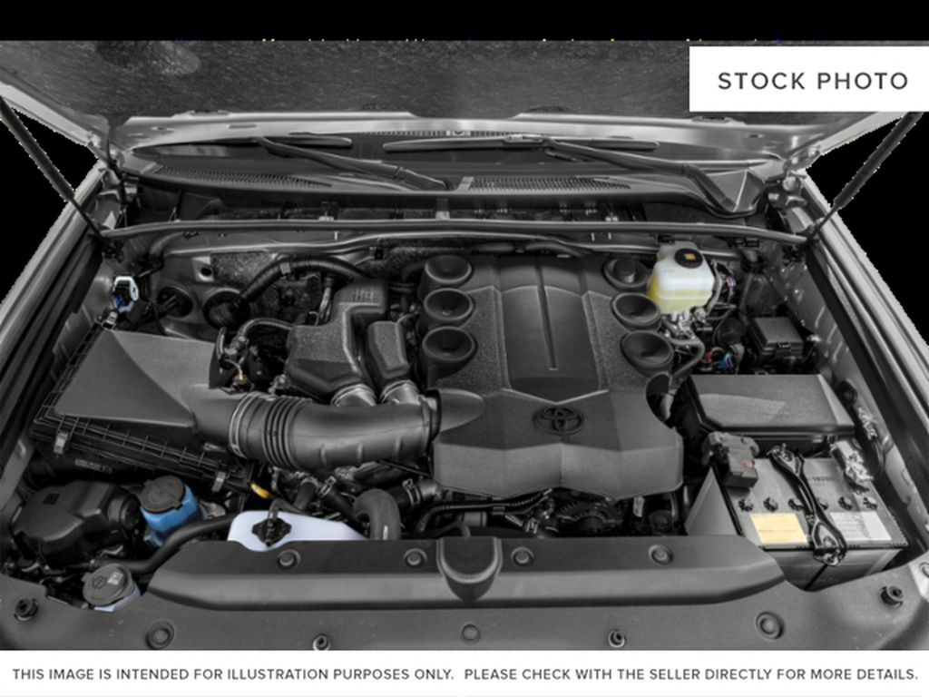 Gray[Magnetic Grey Metallic] 2021 Toyota 4Runner Limited Engine Compartment Photo in Edmonton AB